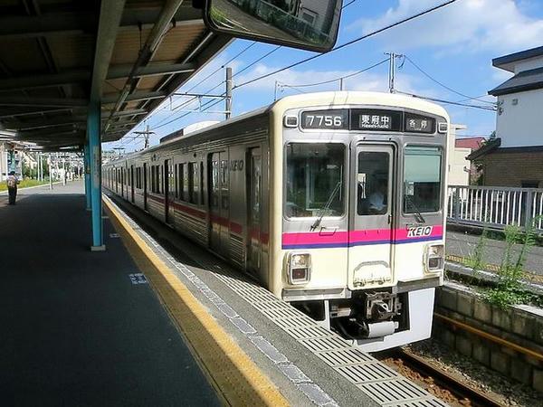 京王線で新宿に戻ります