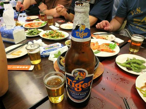 Tiger Beer(タイガービール)
