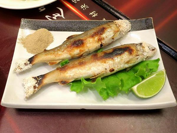 烤香魚 150元