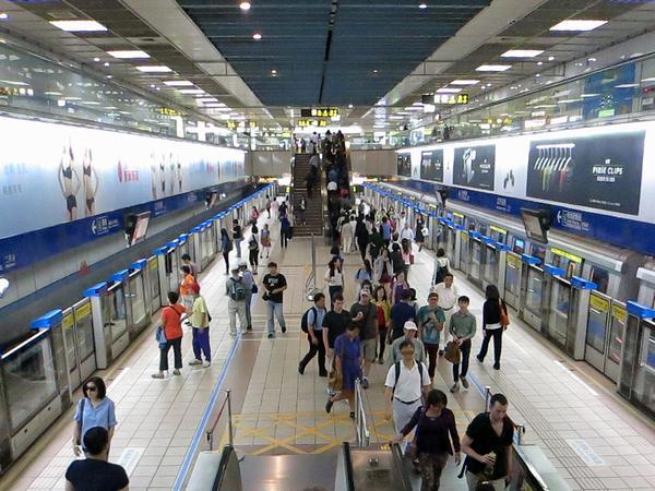 台北捷運板南線忠孝復興站