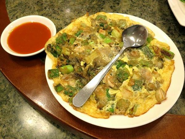 蚵仔煎(牡蠣オムレツ)