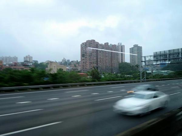 台北市内の景色