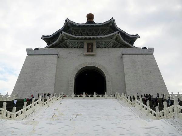 正面から見た中正紀念堂