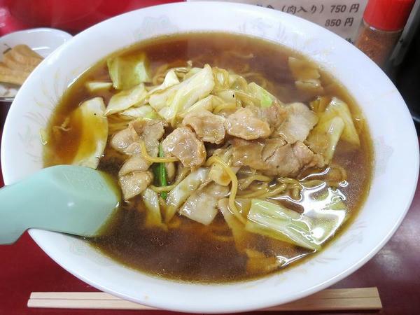 スープ入り焼きそば(大) 750円