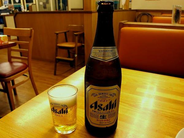 瓶ビール(中瓶) 500円