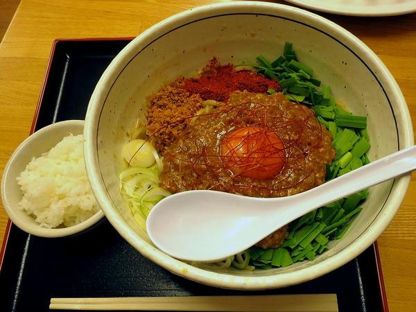 汁無し担々麺(4辛) 880円