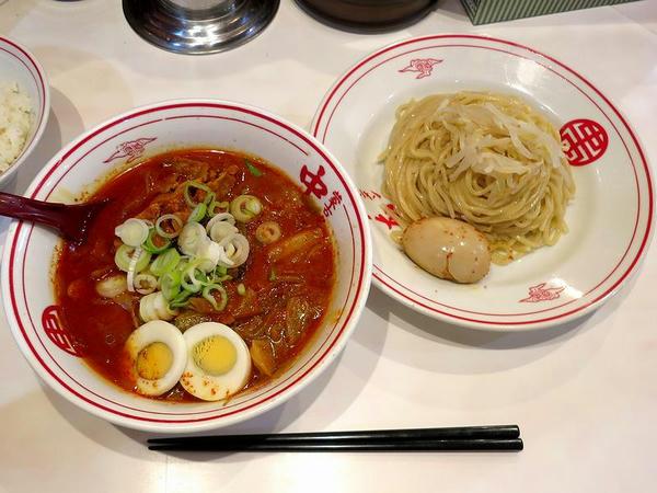 冷し五目味噌タンメン 860円 + 味付玉子 120円