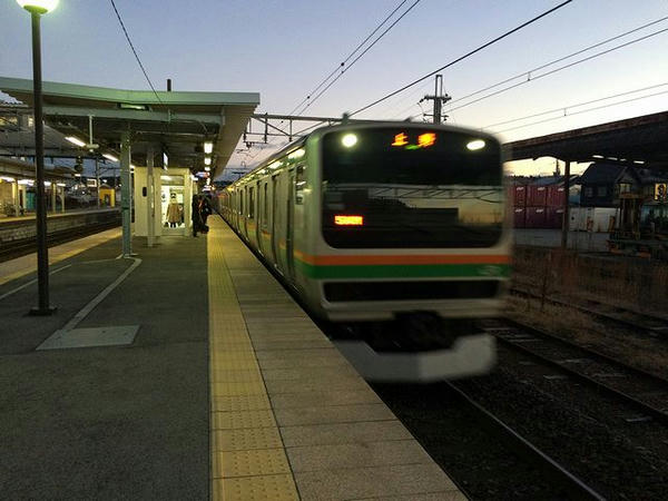JR宇都宮線上り普通列車