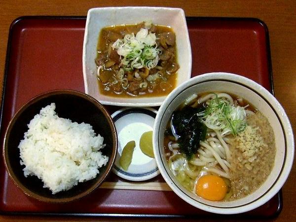 パンチセット 760円 + 玉子(生) 50円