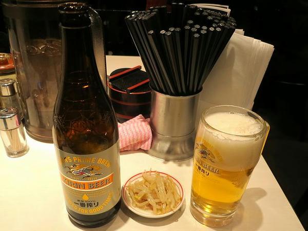 瓶ビール 520円
