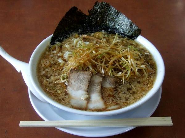 ネギラーメン(こってりスープ) 750円