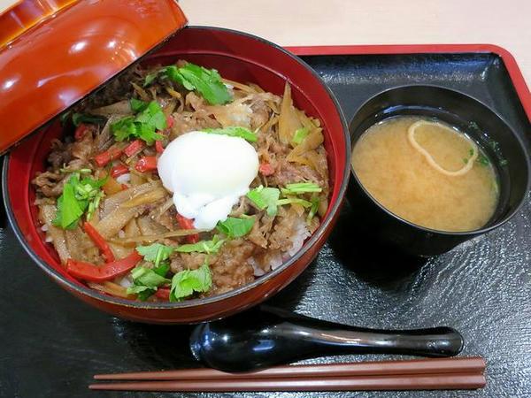 近江牛しぐれ煮丼 890円