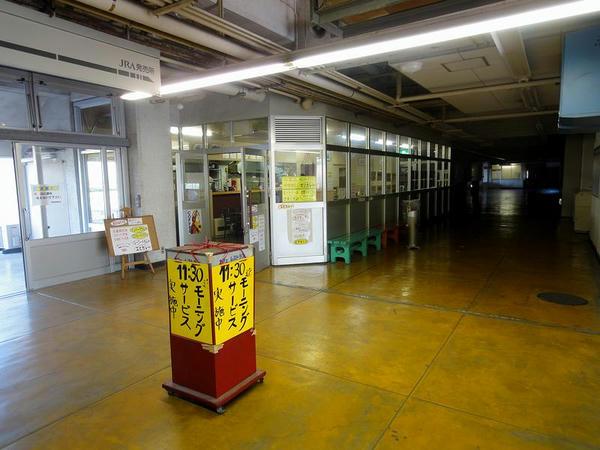 1階の飲食売店