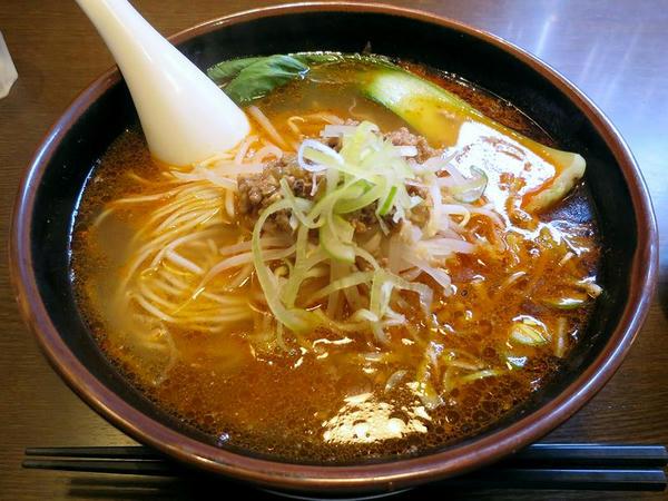 美麺、うま辛担担麺 900円