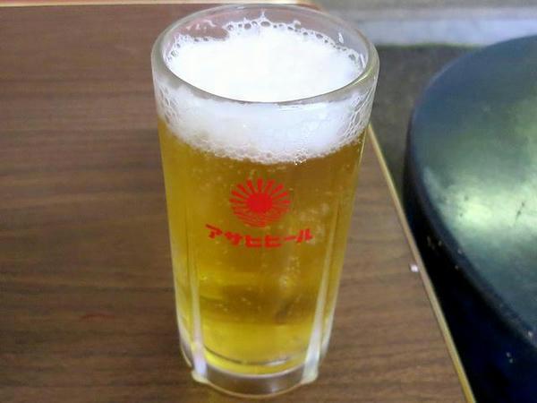 ビール(アサヒ) 400円