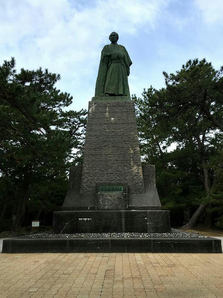 桂浜の坂本龍馬像