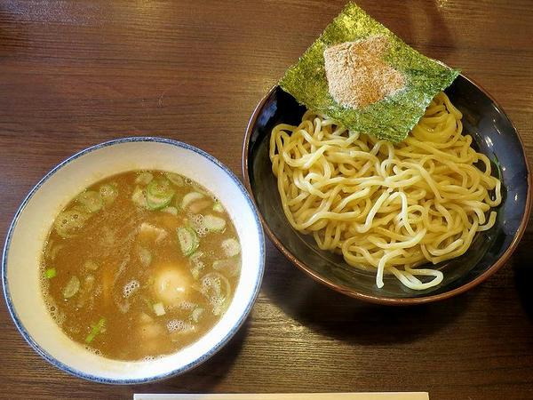 つけ麺 800円 + 半熟味付玉子 100円