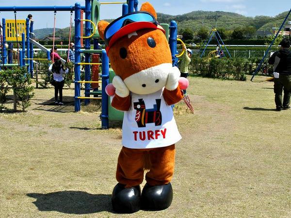 福島競馬場バージョンのターフィーさん