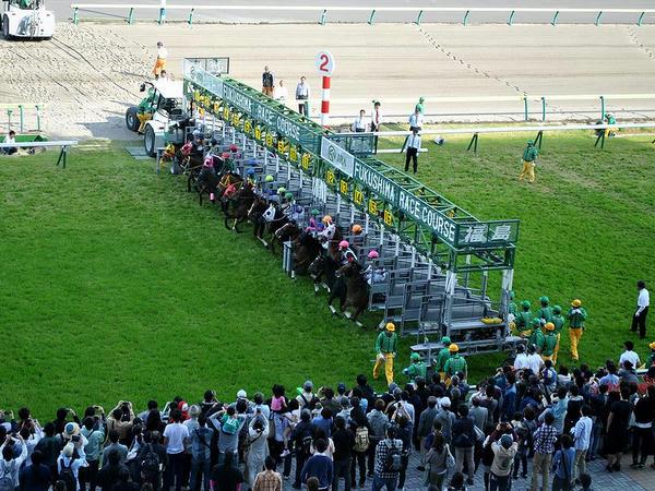 福島牝馬ステークスのスタート