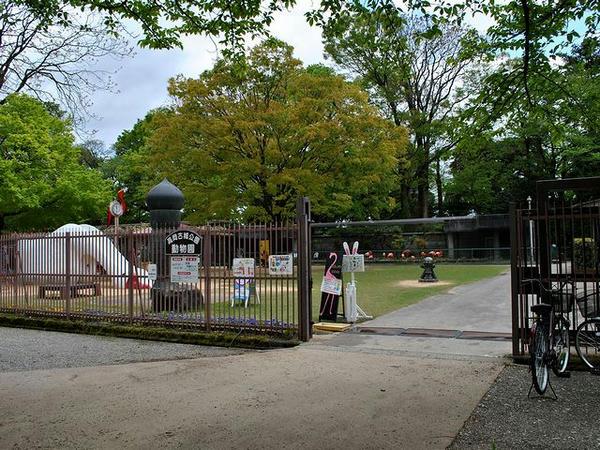 明丸にある高岡古城公園動物園