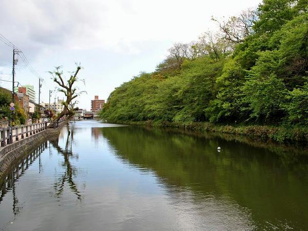 池の端濠(西外堀)