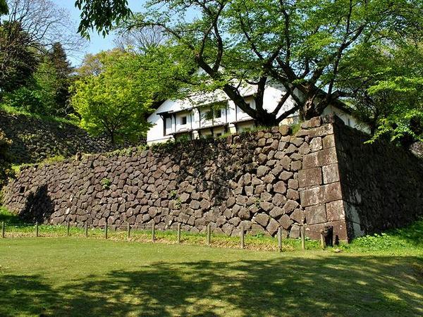 東の丸北面石垣(鶴丸倉庫下)