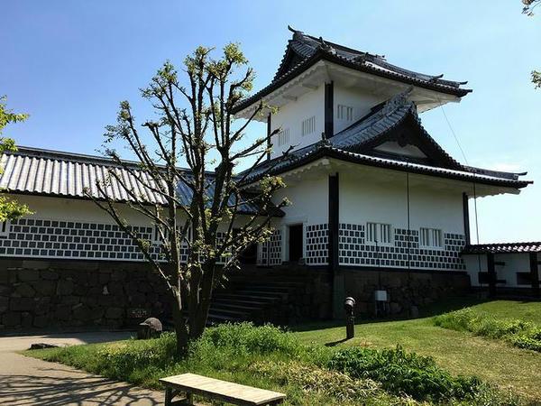 石川門の櫓