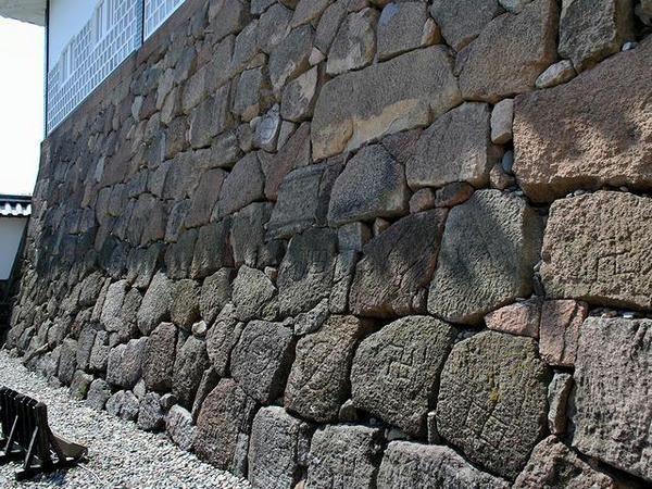 石川門の石垣その1