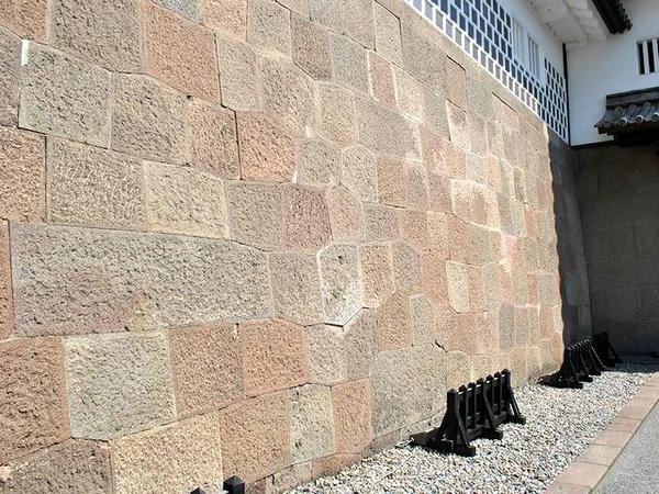 石川門の石垣その2