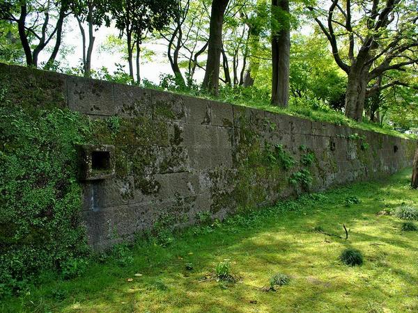 数寄屋屋敷石垣
