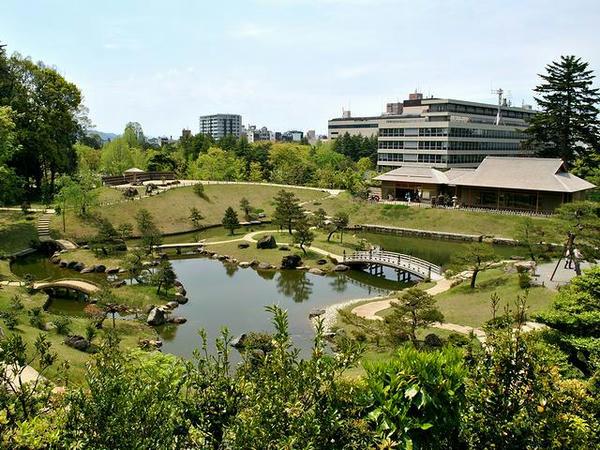 玉泉院丸の庭園再び