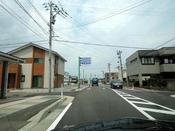 坂井市内走行中