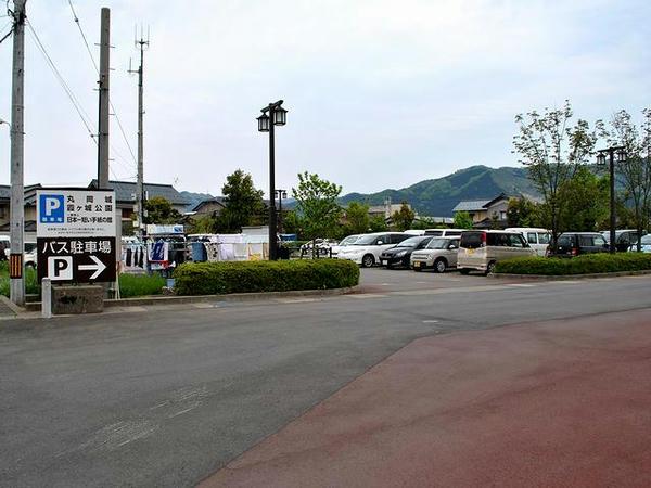 丸岡城他の駐車場