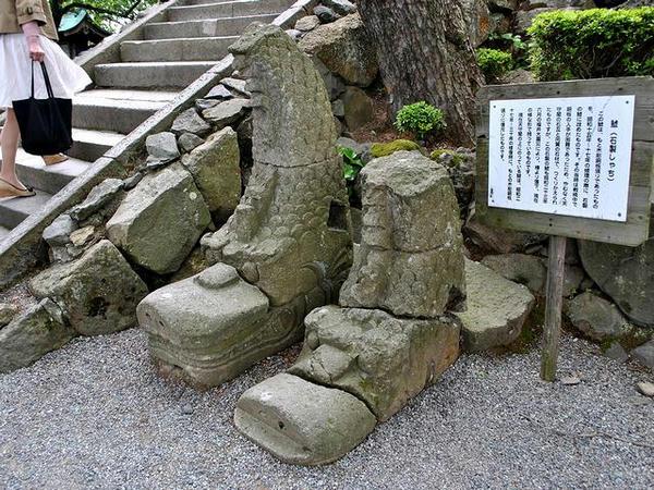 石製のしゃち