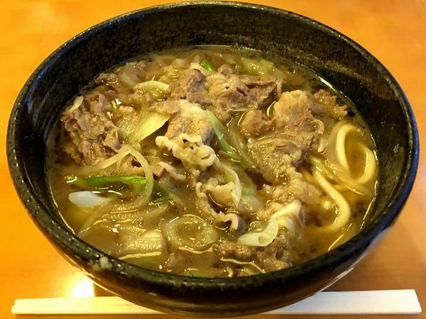 肉(うどん) 700円