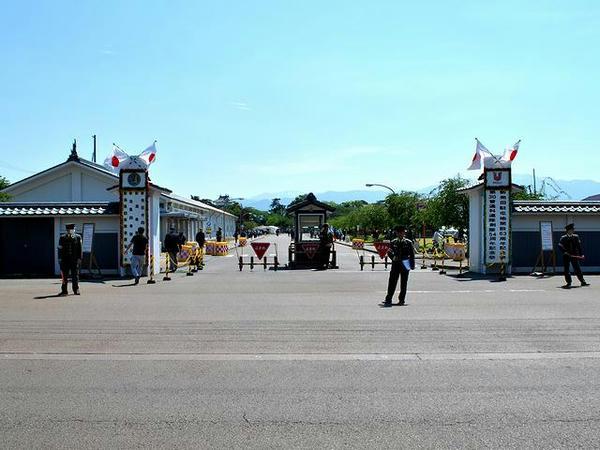 新発田駐屯地入口