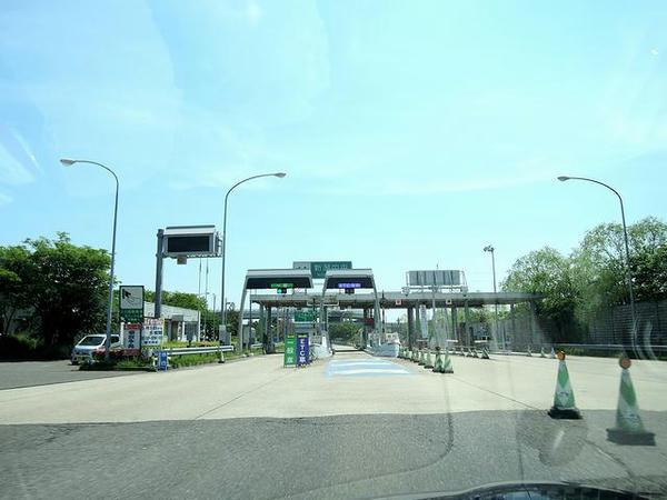 新潟中央ICから磐越道へ乗ったものの…