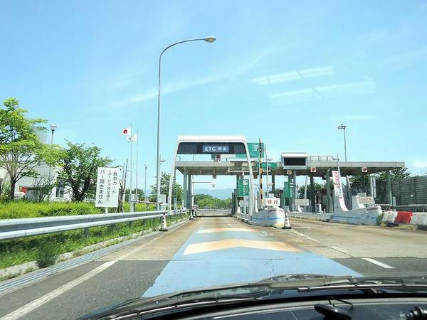 改めて新津ICから磐越道へ