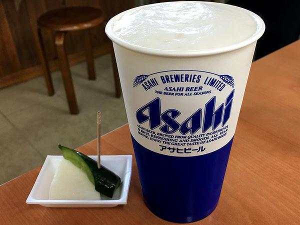 生ビール(アサヒ スーパードライ) 500円