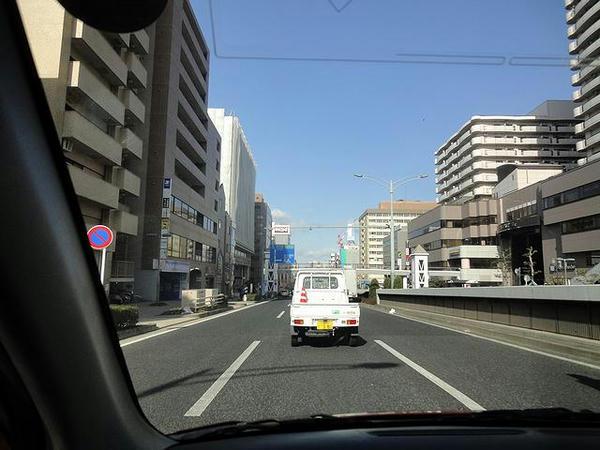 名古屋市内走行中