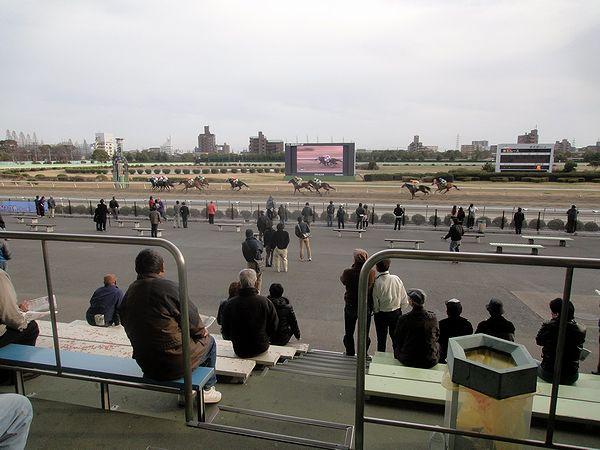 最終レースの風景