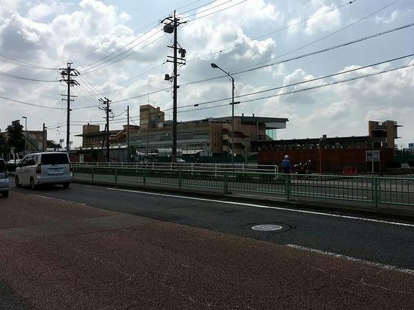名古屋競馬場遠景