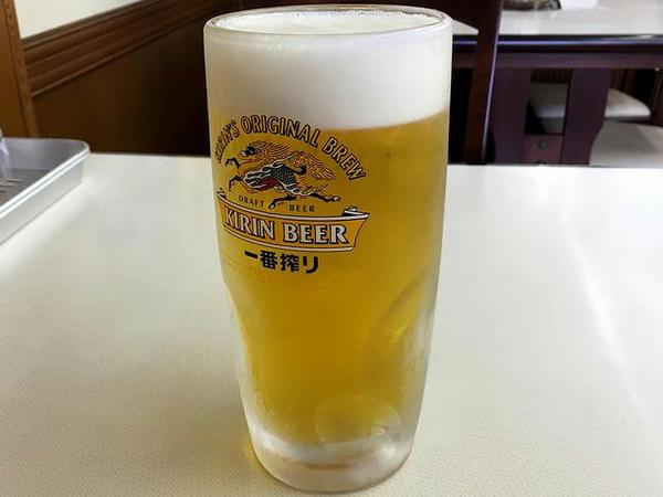 生ビール(大) 830円