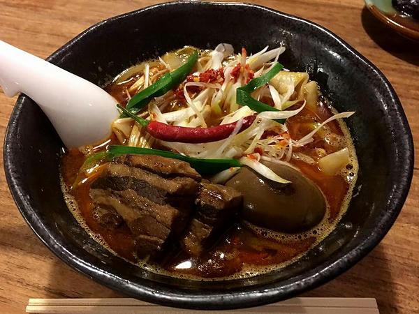 台湾麺片 800円