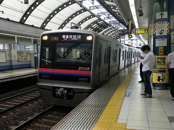 最後に乗車した京成本線の普通列車