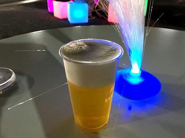 ハートビールな景品の生ビール