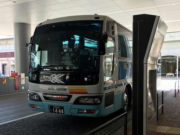 伊丹空港行きのリムジンバス