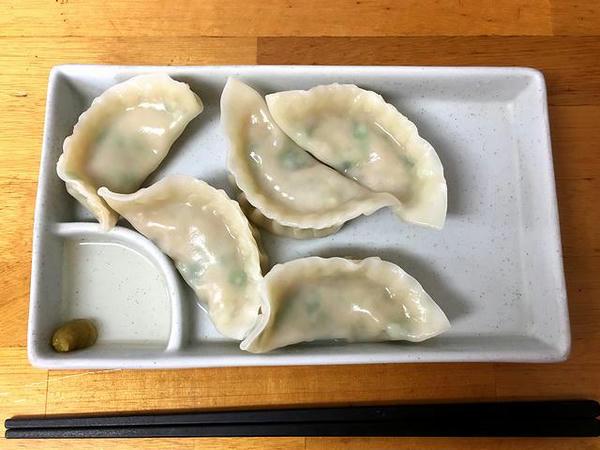 水餃子 5ヶ 250円
