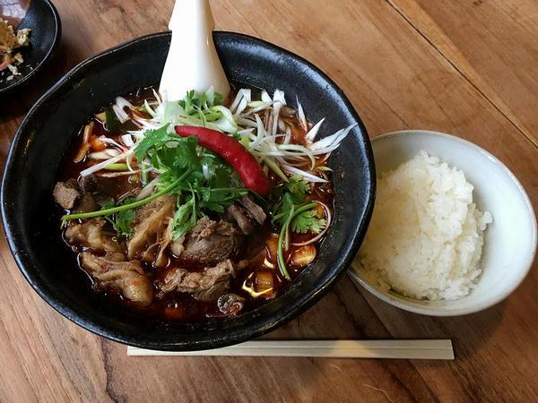 葱香牛肉麺(ねぎかおるニュウロウメン) 980円