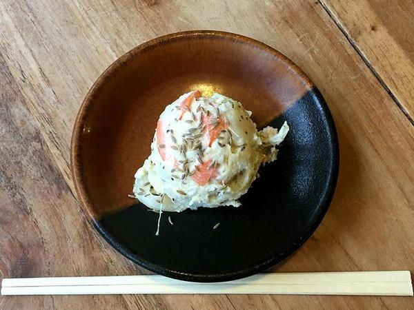 本日の野菜(ポテトサラダ) 100円